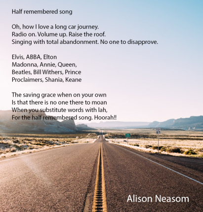 A Half remembered song Alison Neasom